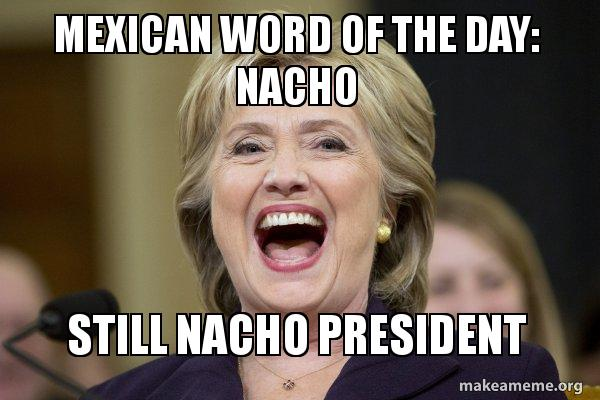 hillary nacho